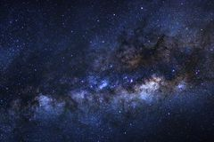 Clearly milky way galaxy with stars and space dust in the univer. Se Stock Photo