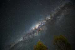 Clearly milky way at night Royalty Free Stock Images
