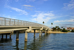 Clearwater Beach. A bridge in Clearwater Beach, Florida, USA Royalty Free Stock Image