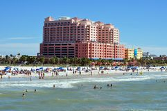 Clearwater Beach, Florida stock images