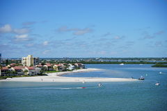 Clearwater beach Stock Photography