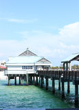 Clearwater Beach Pier 60. Pier 60 in Clearwater Beach, Florida stock photos