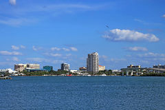 Clearwater céntrico foto de archivo