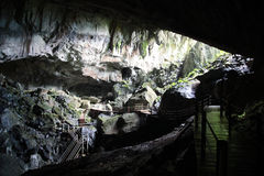 Clearwater Cave in Mulu National Park, Sarawak Royalty Free Stock Photo