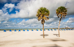 Clearwater. Is a city located in Pinellas County, Florida, United States, northwest of Tampa and St. Petersburg. To the west of  lies the Gulf of Mexico and to Royalty Free Stock Images