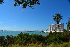 ClearWater Florida von a weit Lizenzfreie Stockbilder