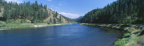 Clearwater Fluss lizenzfreie stockfotografie