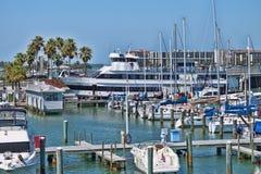 Clearwater marina royaltyfria foton