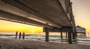 Clearwater Plaża Obraz Stock