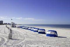 Clearwater plaży ranek zdjęcie royalty free