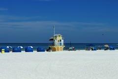 Clearwater plaża; Tampa; Floryda; USA; Zdjęcia Royalty Free