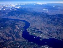 CLEARWATER rzeka I wąż rzeka CLARKSTON obraz royalty free