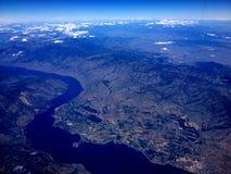 CLEARWATER rzeka I wąż rzeka CLARKSTON zdjęcie royalty free