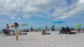 Clearwater Strand Lizenzfreies Stockfoto