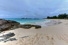 Clearwater strand - Bermuda Royaltyfria Bilder