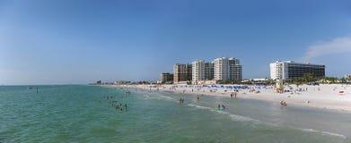 Clearwater strand, Florida Arkivbild