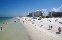 Clearwater Strand, Florida Stockbild