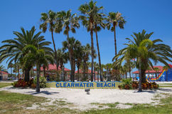 Clearwater Strand, Florida Stockbilder