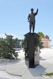Clearwater-Strand-Florida-Statue Lizenzfreie Stockfotografie