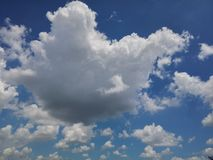 Cleary sky Royalty Free Stock Images