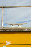 Cleat and rail. Stock Photo