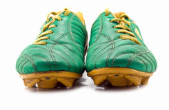 Cleats isolated Stock Photos