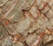 Cleaved sandstone block Stock Image