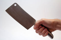 CLEAVER. Home cleaver stock photo