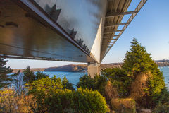 Cleddau Bridge Royalty Free Stock Photos
