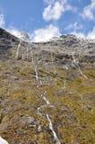 Cleddau Valley. Fiord land National Park, New Zealand Stock Image