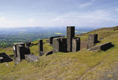 Clee hill Royalty Free Stock Images