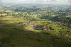 Clee Hill quarry.Uk. Stock Photography