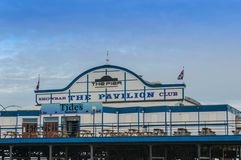 Cleethorpes码头,林肯郡,英国,英国 免版税库存图片