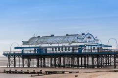 Cleethorpes码头,林肯郡,英国,英国 库存图片
