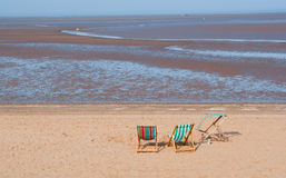 Cleethorpes Beach Royalty Free Stock Photos