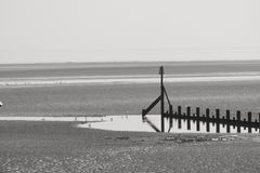 Cleethorpes Beach Royalty Free Stock Images