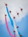 Cleethorpes seafront, England - July 19, 2013: Royal Air Force a Stock Photo