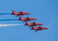 Cleethorpes-Seeseite, England - 19. Juli 2013: Royal Air Force a Lizenzfreie Stockfotos