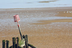 Cleethorpes-Strand Stockfotos