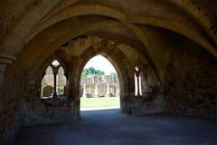 Cleeve修道院英国遗产北德文区英国 库存照片