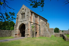 Cleeve Abbey English Heritage North Devon UK Royalty Free Stock Photo