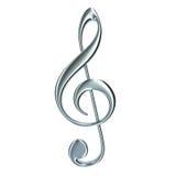 clef απομονωμένο πρίμο Στοκ εικόνες με δικαίωμα ελεύθερης χρήσης