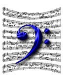 clef f Стоковое фото RF