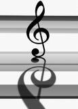 clef g Fotografia Royalty Free