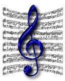 clef g Стоковые Изображения