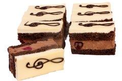 Clef key cake Stock Image