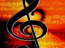 Clef, Music, Lines, Notenblatt Royalty Free Stock Photo