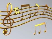 clef treble ilustracja wektor