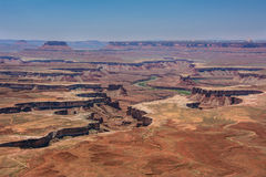 Cleft in Canyonlands  National Park, Moab, Utah, USA Royalty Free Stock Photo