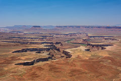 Cleft in Canyonlands  National Park, Moab, Utah, USA Royalty Free Stock Images